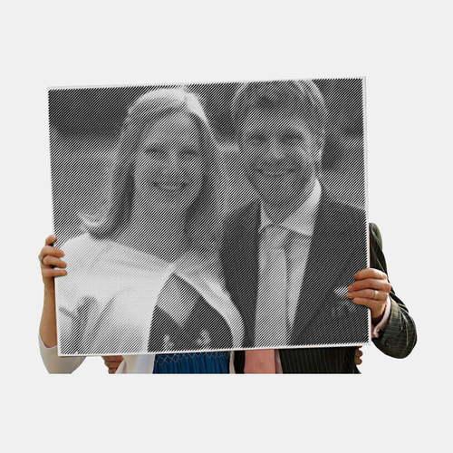 Obraz frezowany jako prezent ślubny