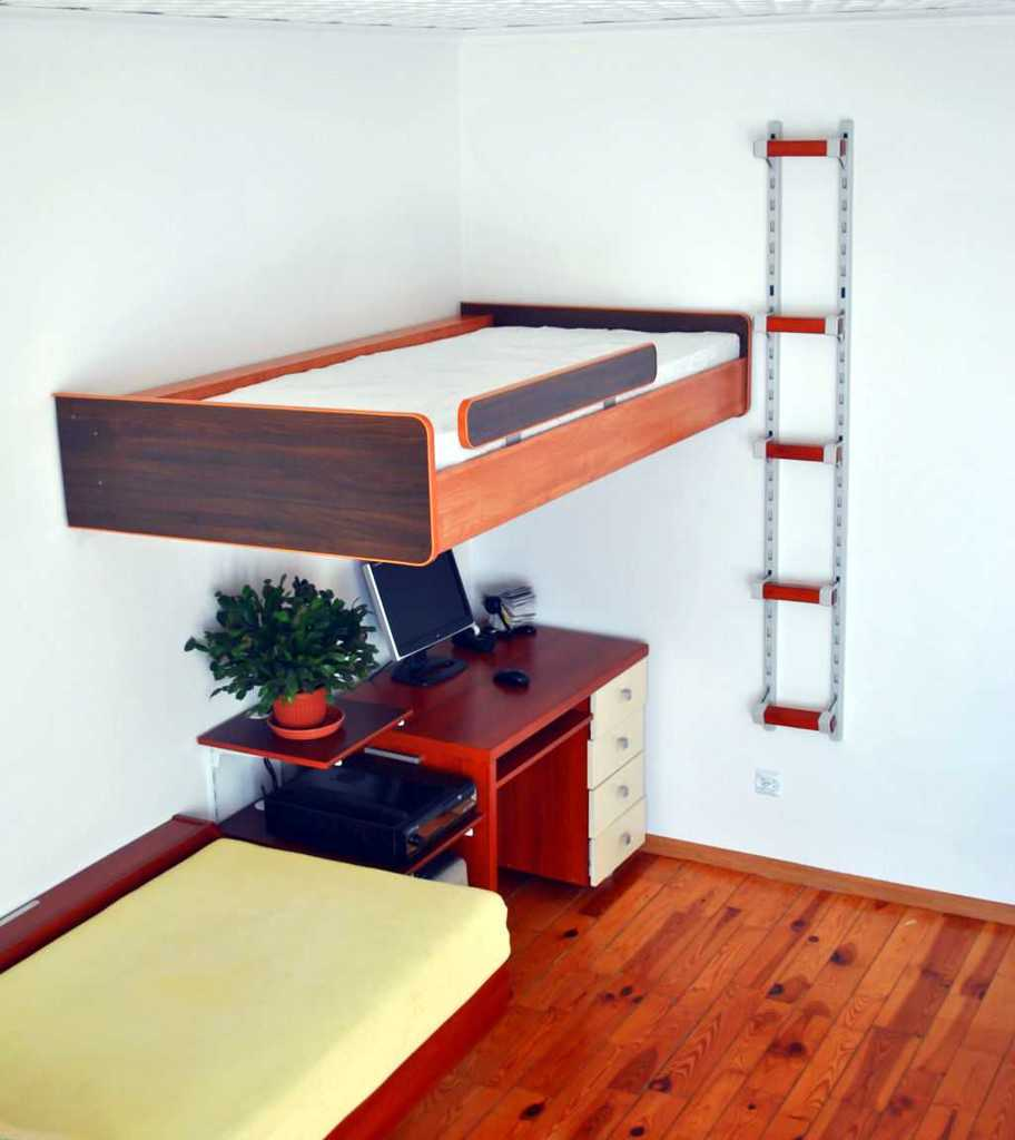 łóżko na natresoli SimpleFly