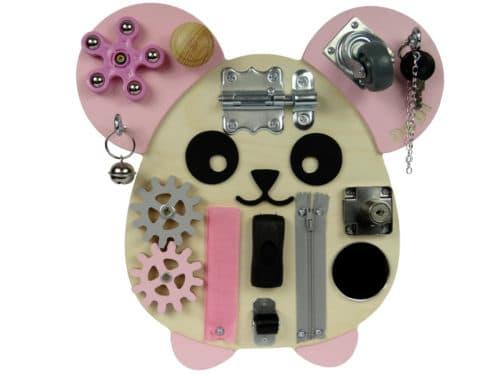 różowa mysz tablica sensoryczna DODI