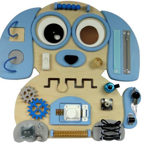 pies niebieski tablica manipulacyjna dodi